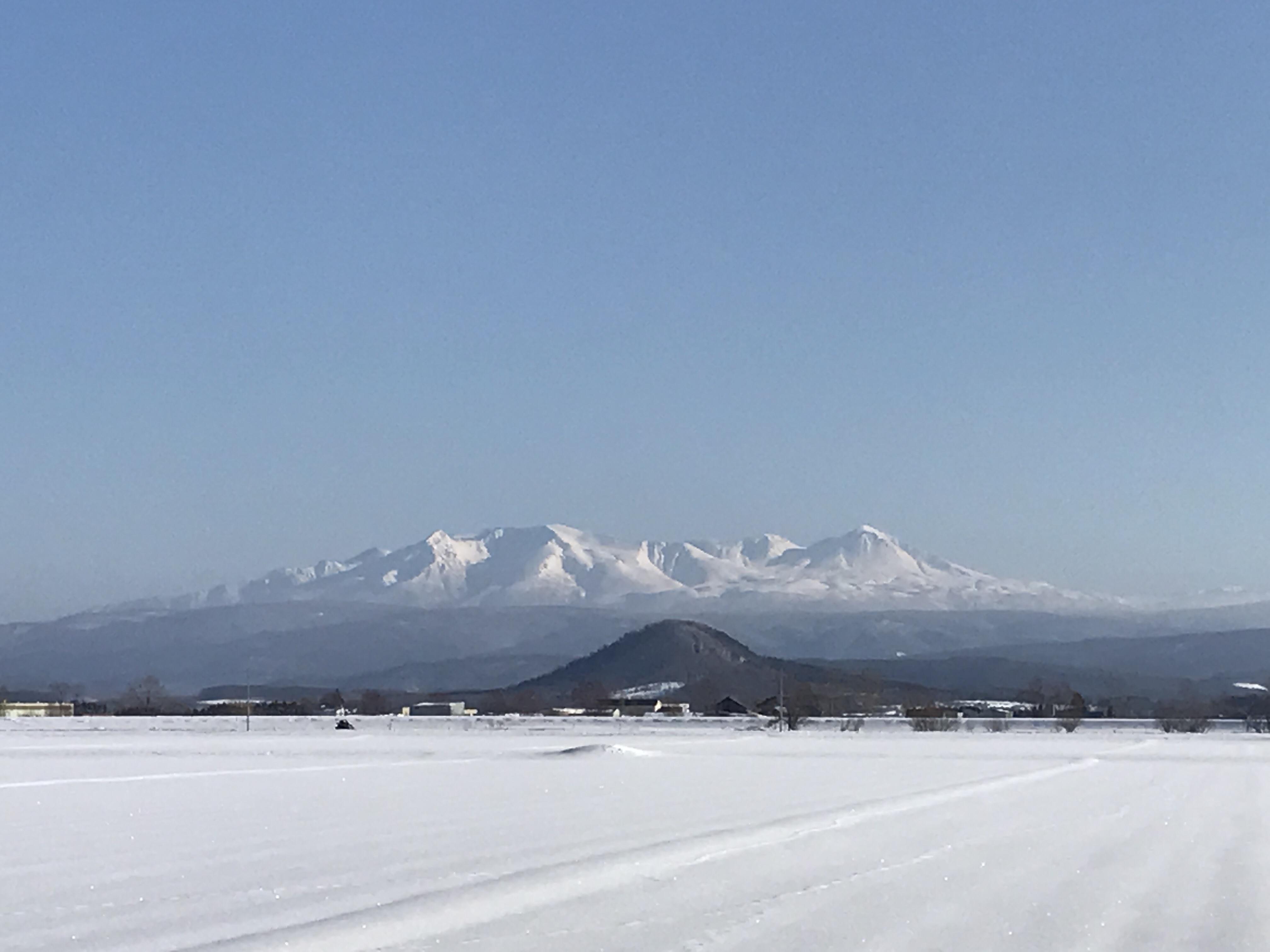 大雪山が世界一綺麗に見える町