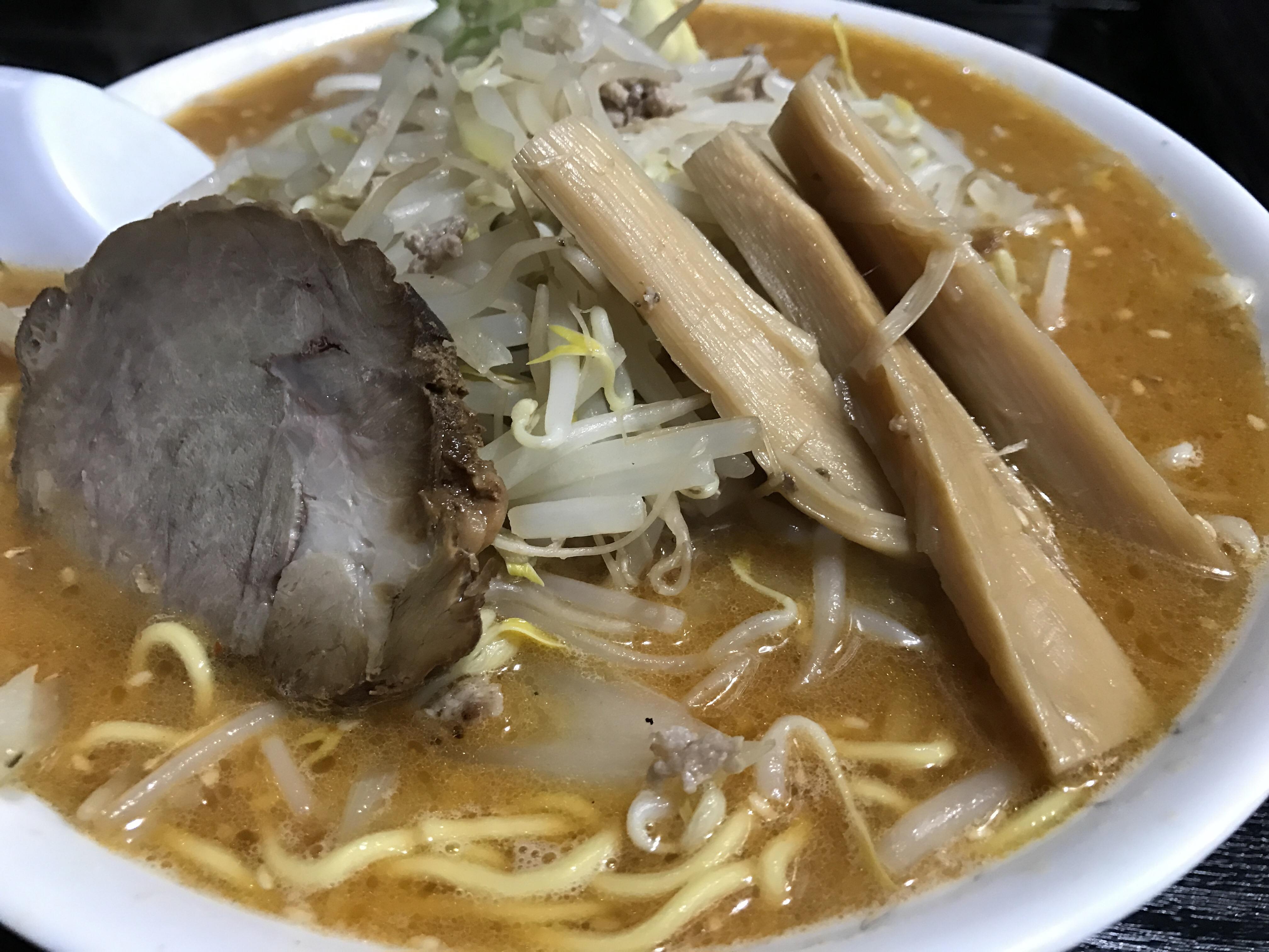 旭川「ふく寿」のみそラーメン