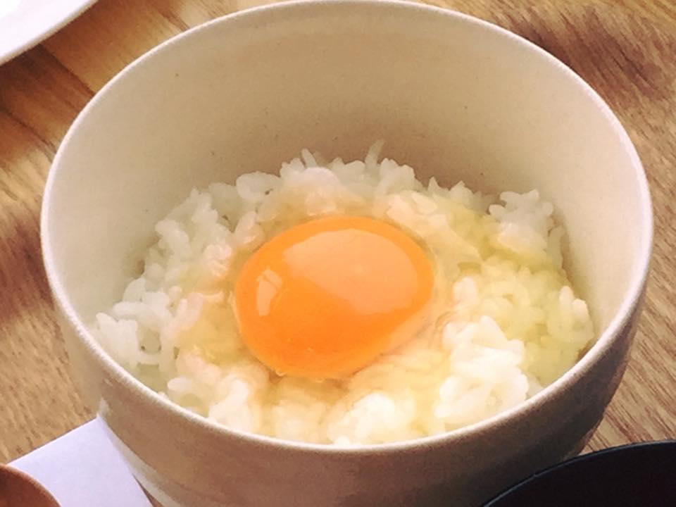 かっぱの健卵の卵かけごはん