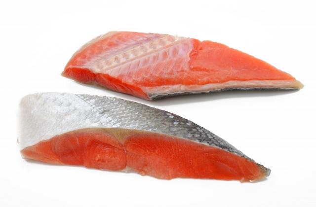 アスタキサンチンを含む鮭