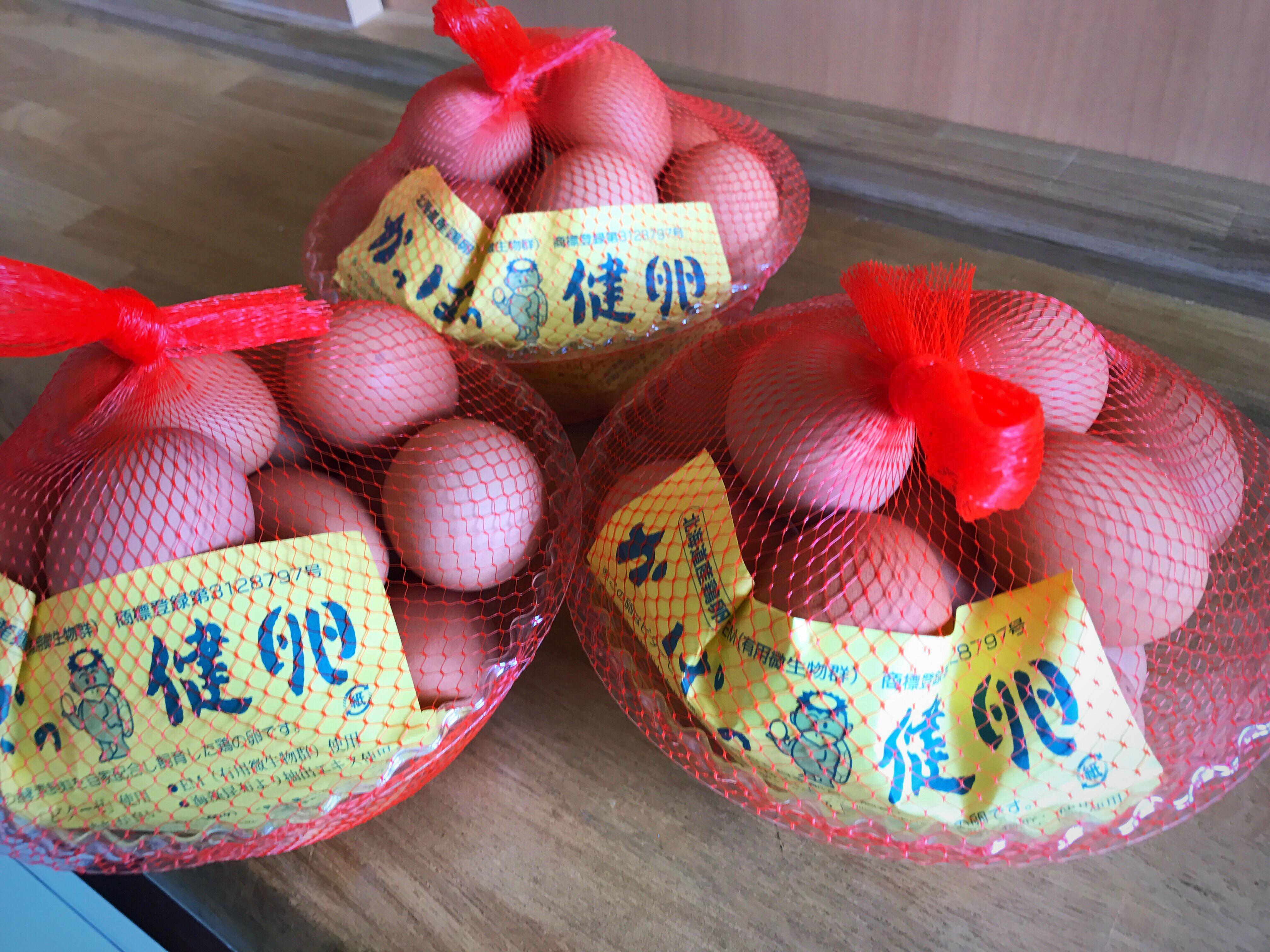 自動販売機で売ってるネットに入ったかっぱの健卵