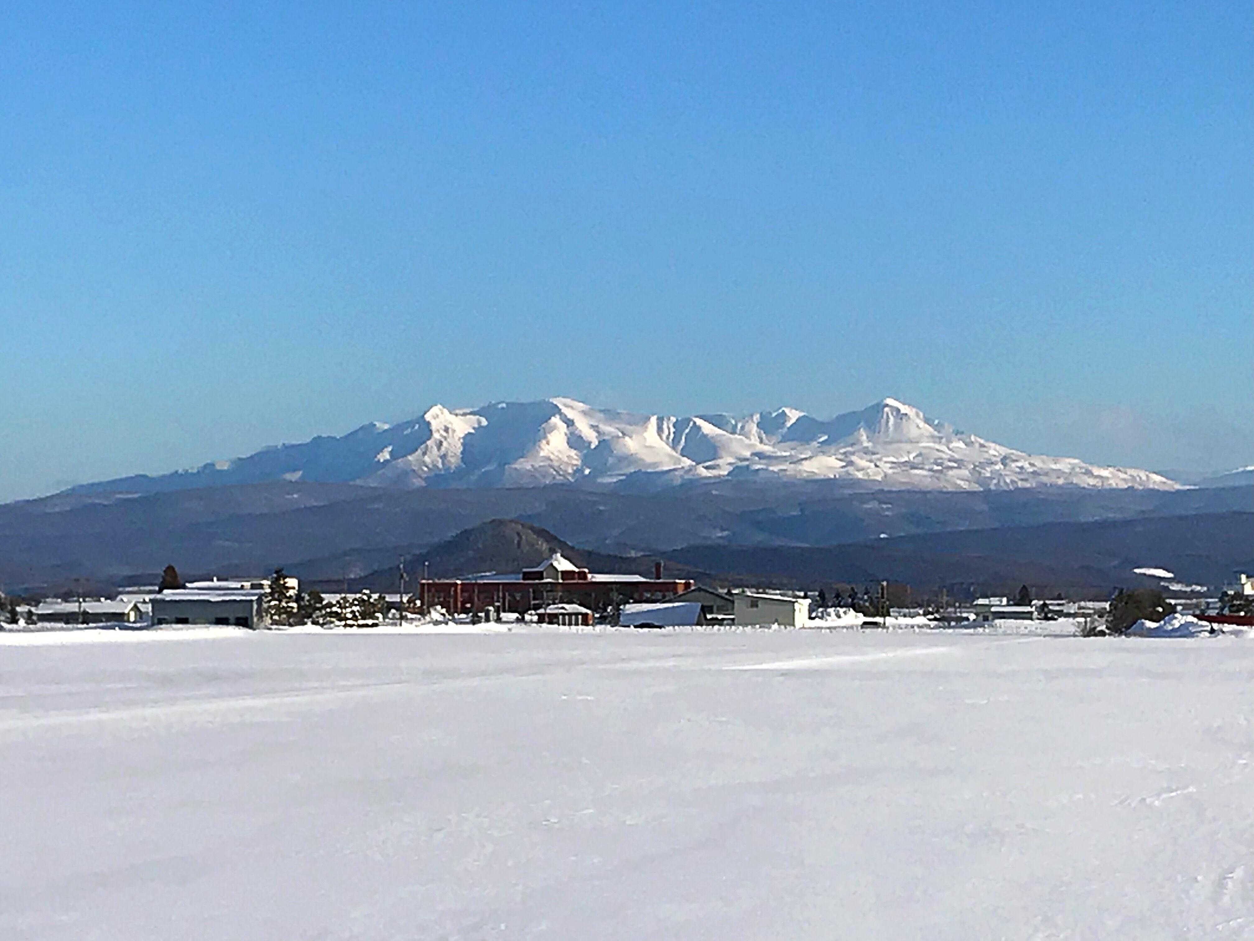 久しぶりに顔出した大雪山
