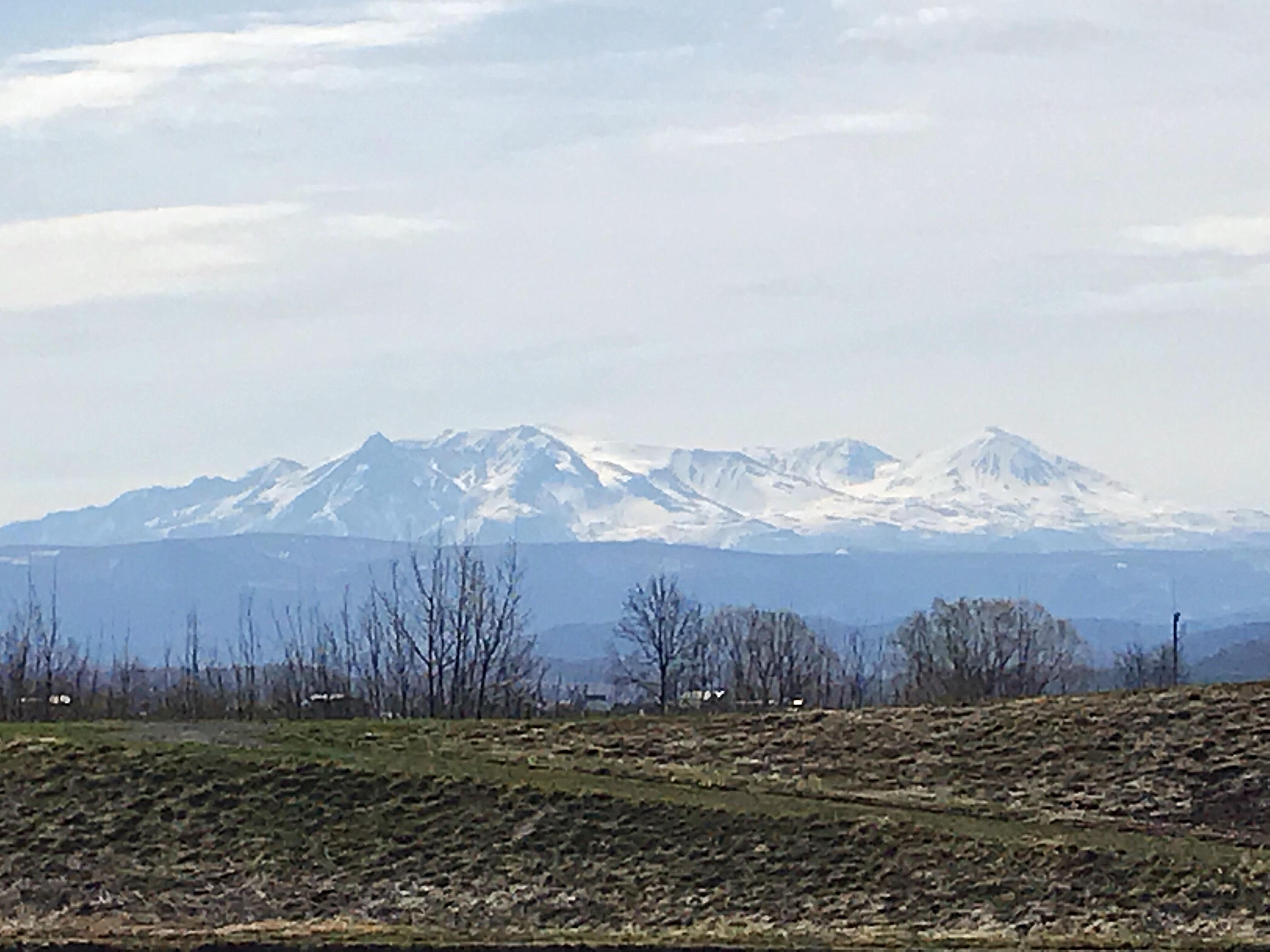 2018年4月22日朝9時前の大雪山
