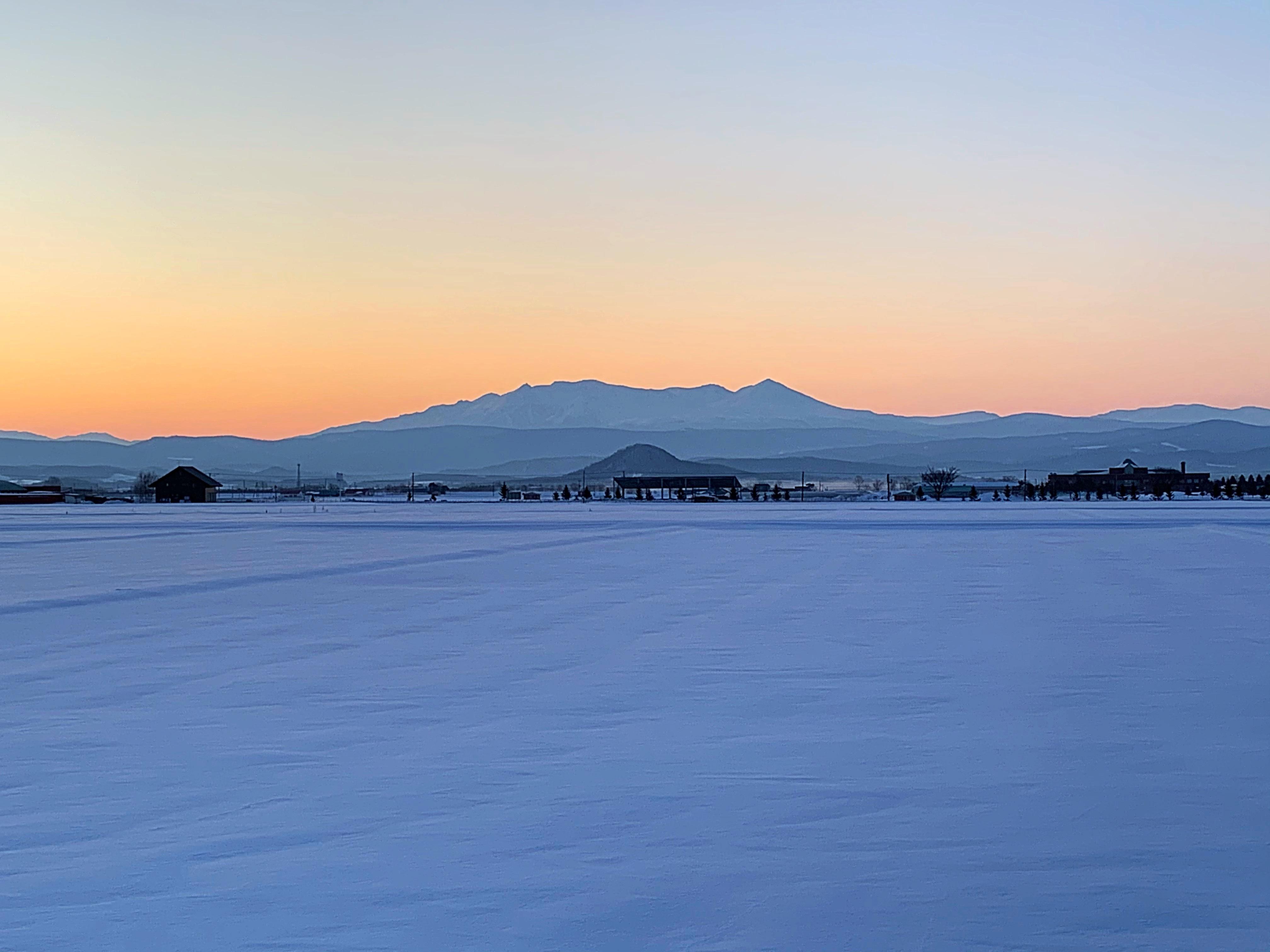 AM6時前の大雪山