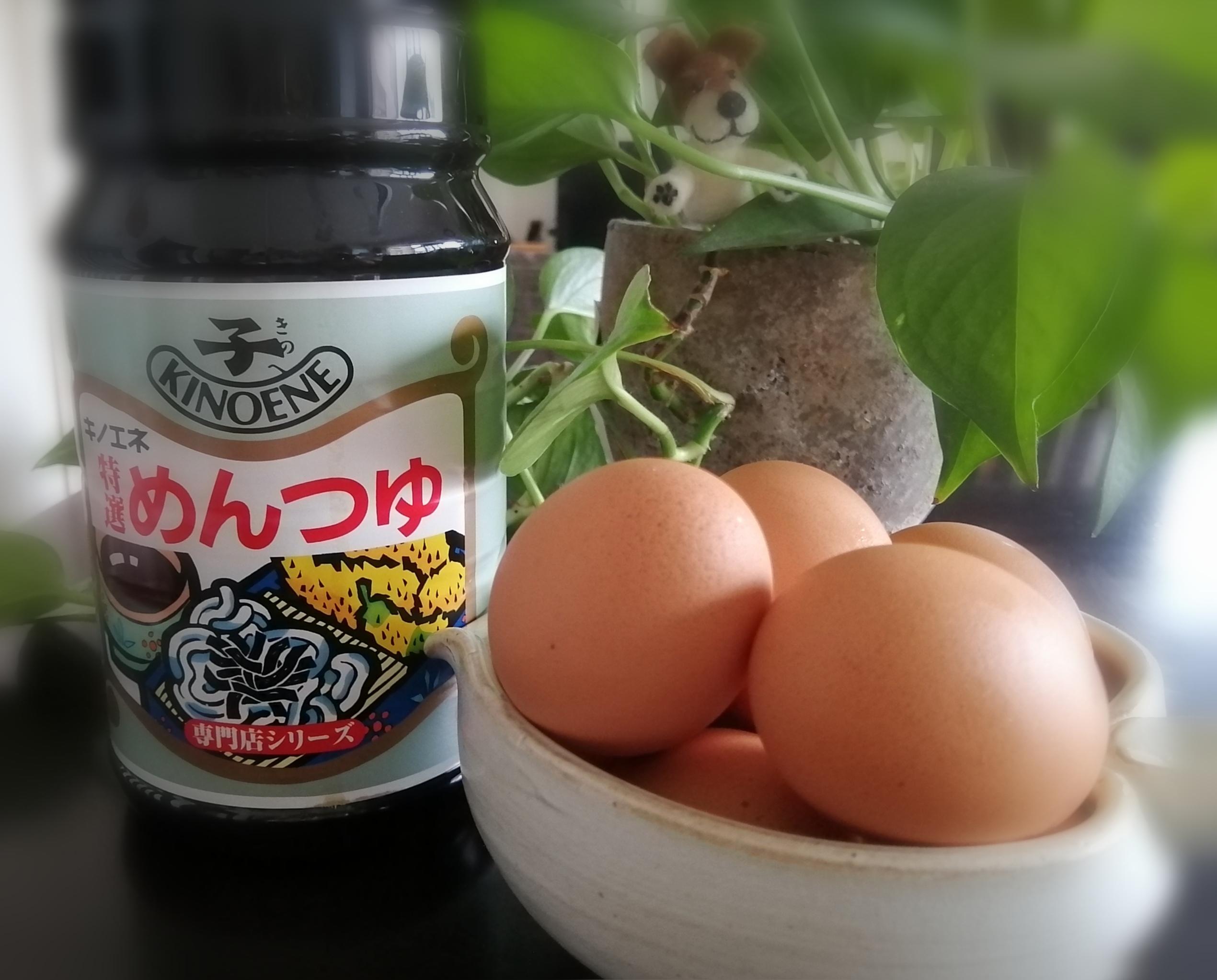 ご飯 めんつゆ かけ 卵